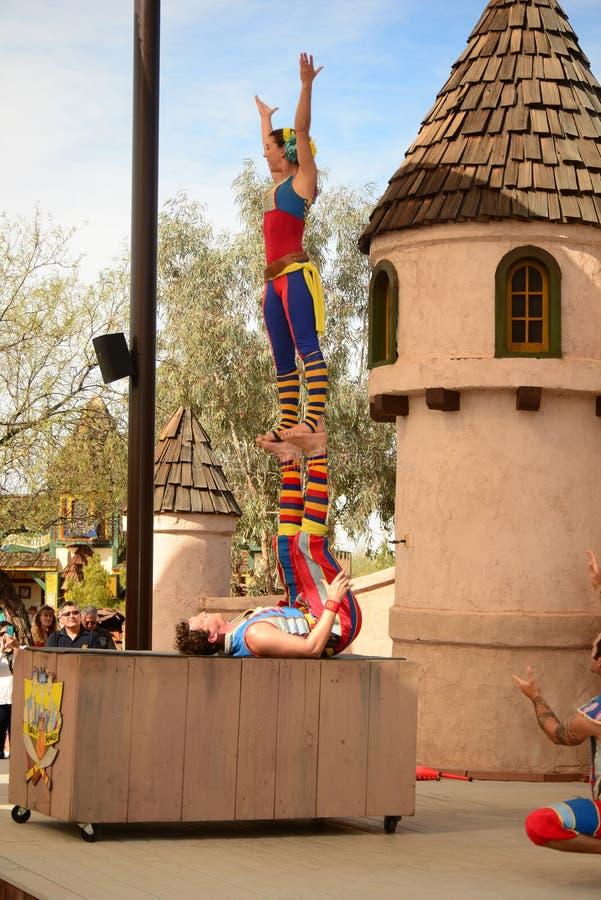 Festival de la Renaissance de l'Arizona image stock