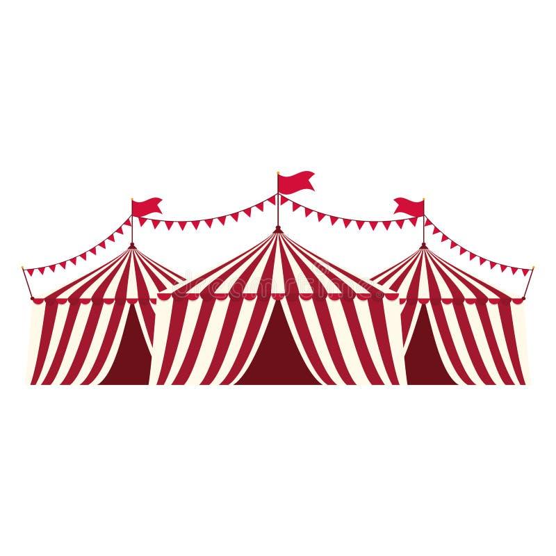 Festival de la tienda de circo libre illustration