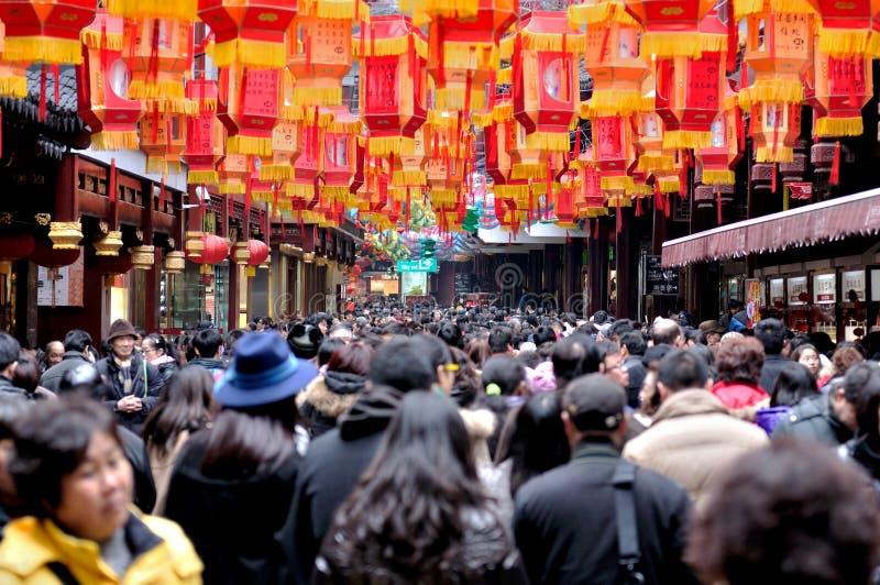 Festival de lanterna chinês foto de stock