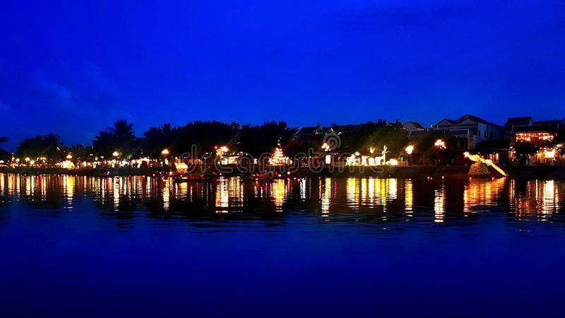 Festival de lanterna Hoi An fotos de stock royalty free
