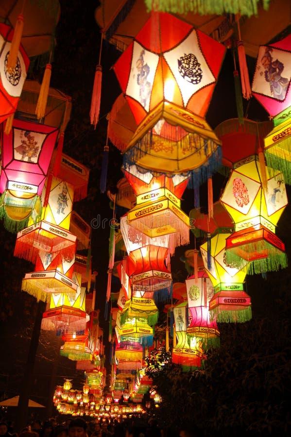 Festival de lanternas foto de stock