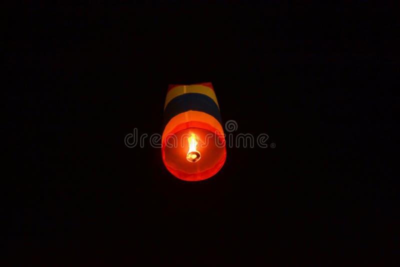Festival de lanterne bouddhiste en Chiang Mai, Thailland photos libres de droits