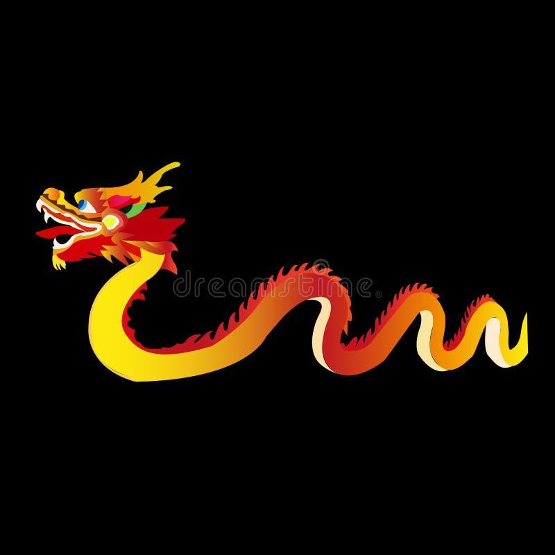 Festival de lanterne chinois Festival de bateau de dragon illustration de vecteur