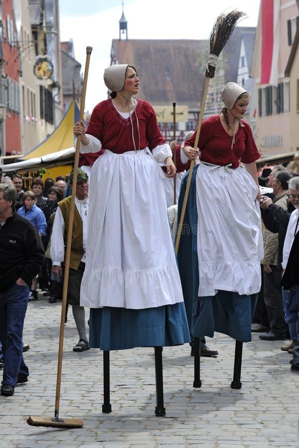 Festival de las Edades Medias fotos de archivo