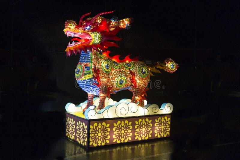 Festival de linterna chino de Vancouver en el PNE foto de archivo