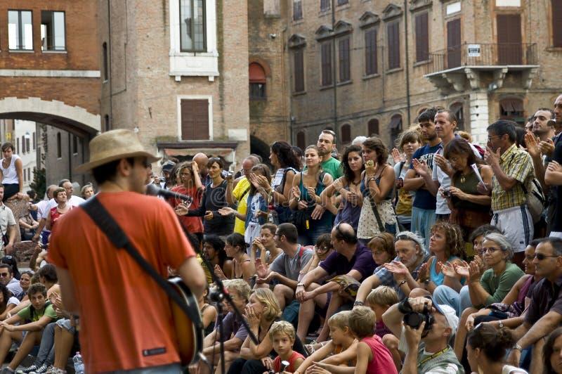 Festival de los músicos de la calle fotos de archivo