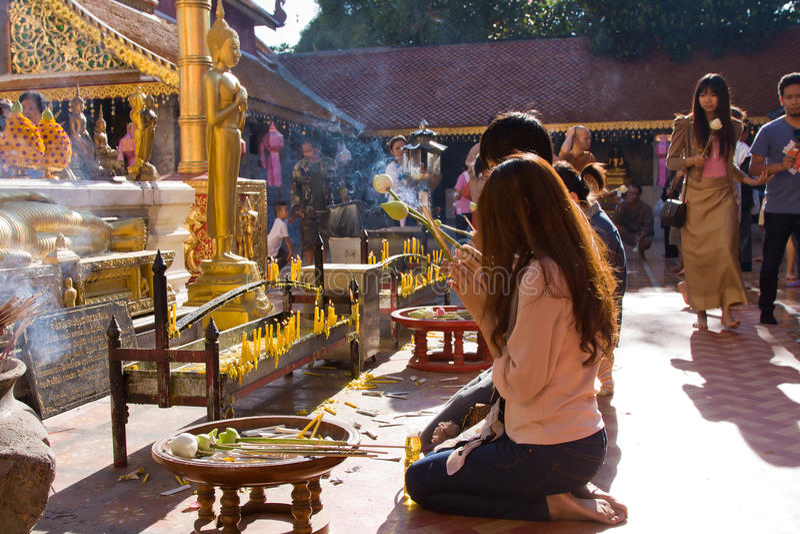 Festival de Loy Krathong fotografia de stock royalty free