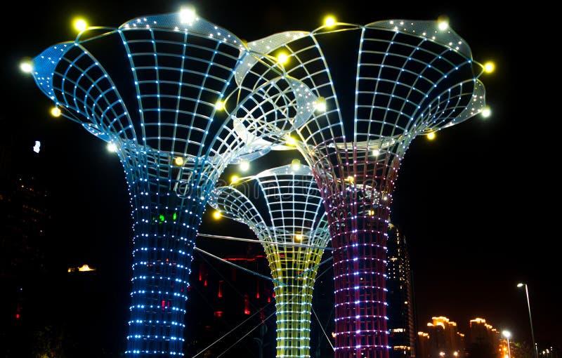 Festival de luces chino en Guangzhou fotos de archivo libres de regalías