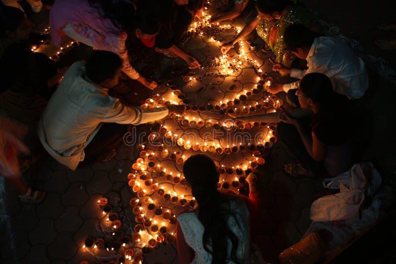 Festival de luzes imagem de stock royalty free
