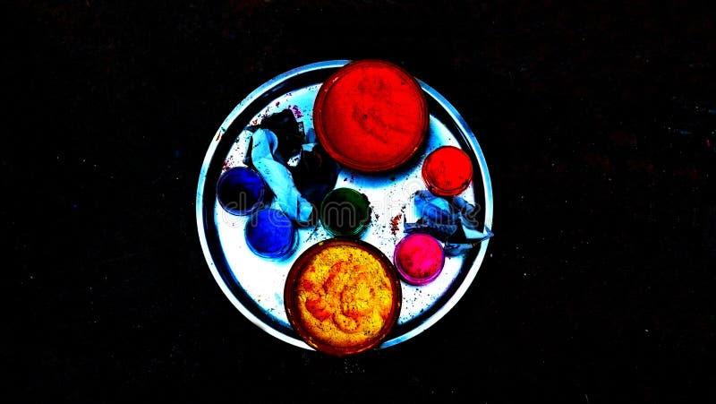 Festival de luzes Diwali Nepal imagens de stock