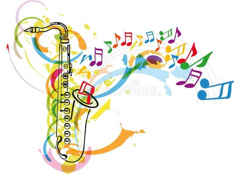Festival de música ilustração royalty free