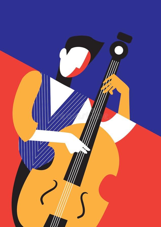 Festival de música stock de ilustración