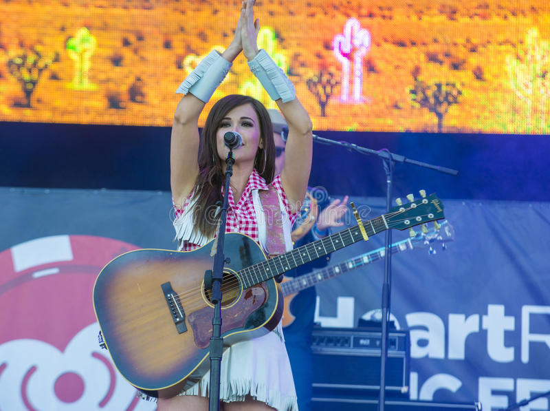 Festival de música de IHeartRadio foto de archivo