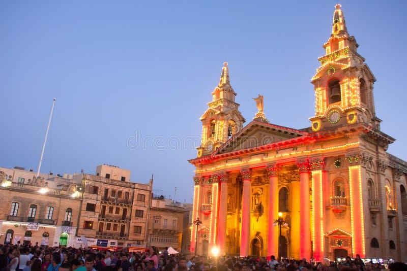 Festival de música de MTV em Malta imagens de stock royalty free