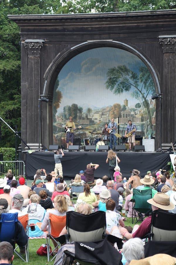 Festival de música do ar aberto foto de stock