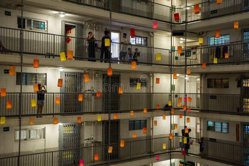 festival de Mi-automne en Hong Kong photo stock