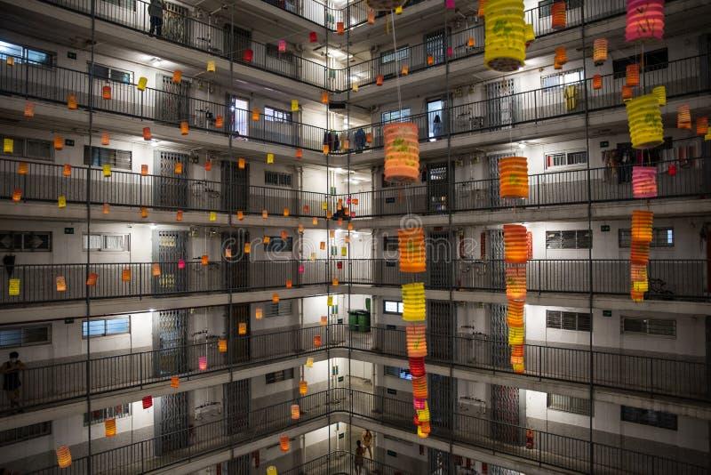 festival de Mi-automne en Hong Kong photos libres de droits