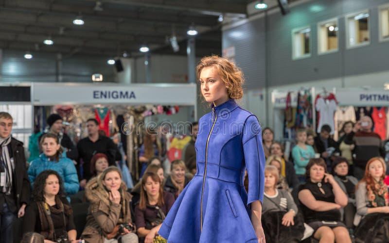 Festival 2016 de mode de Kyiv de mode à Kiev, Ukraine images libres de droits