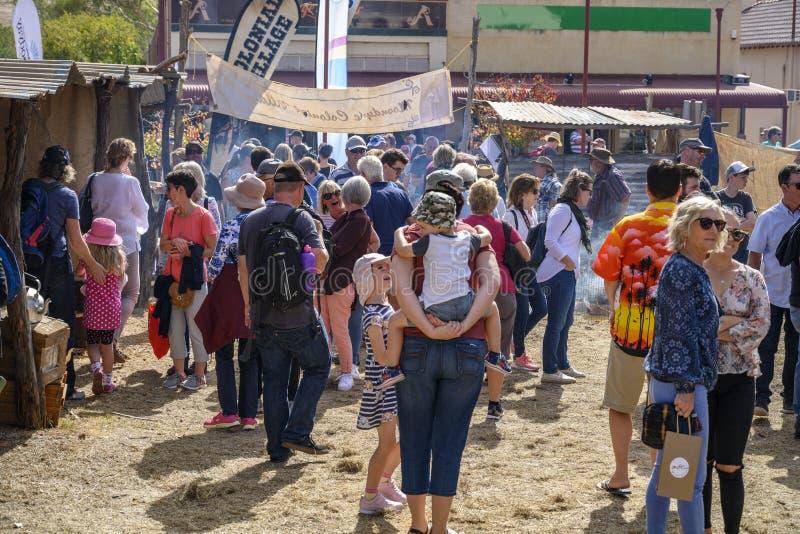 Festival de Moondyne fotografia de stock royalty free