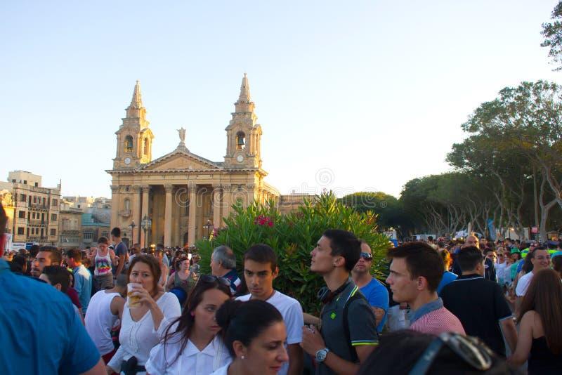 Festival de musique de MTV à Malte photo stock