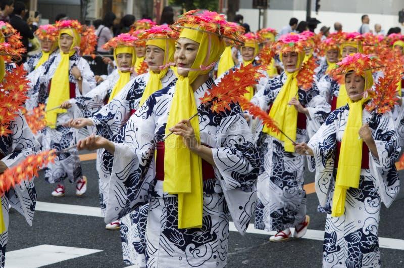 Festival de Nagoya, Japón fotos de archivo libres de regalías