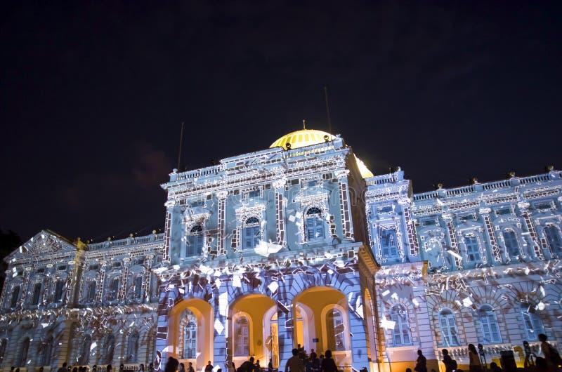 Festival 2017 de nuit de Singapour photographie stock libre de droits