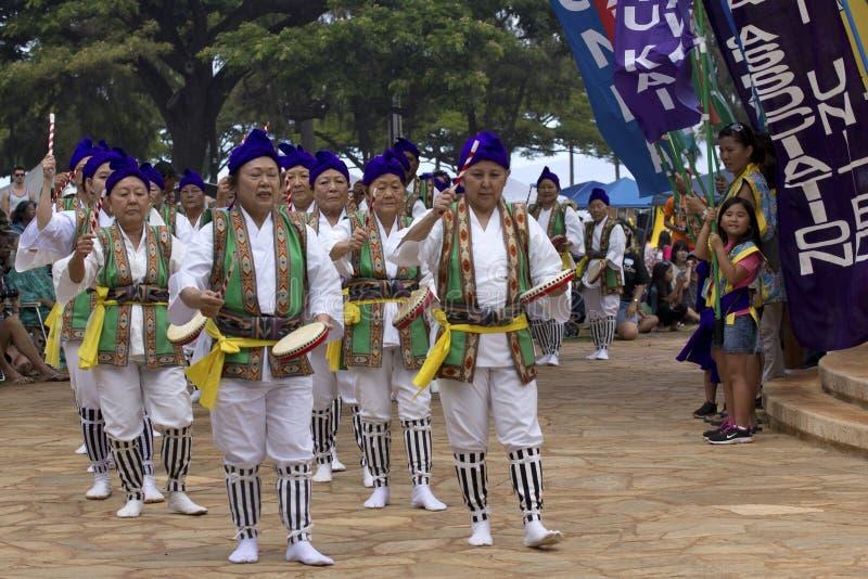 Festival de Okinawa fotos de archivo libres de regalías