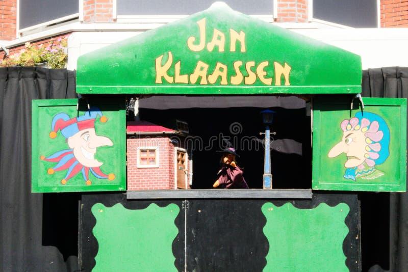festival de Países Baixos-Winschoten Waterbei da rua-arte imagens de stock royalty free