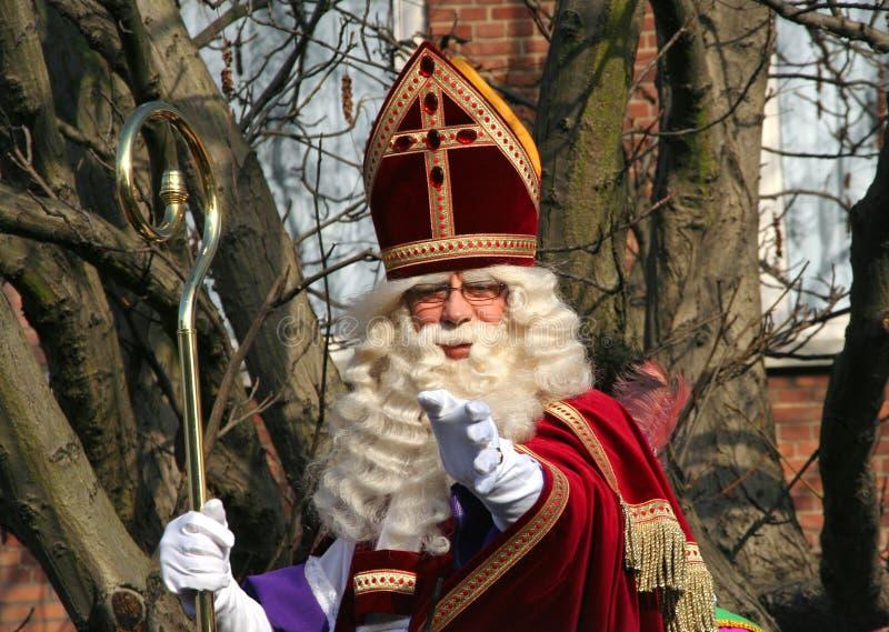Festival de Papá Noel en Holanda imagen de archivo libre de regalías
