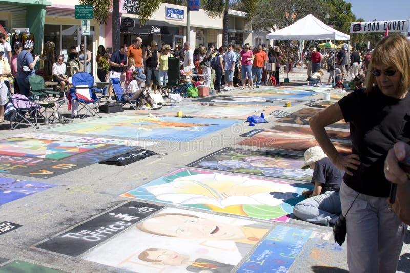 Festival de peinture photographie stock libre de droits