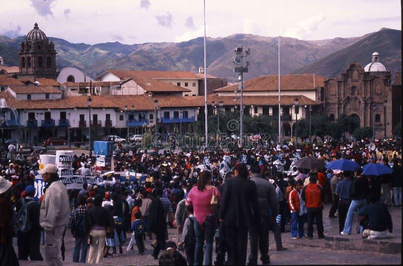 Festival de Peru Cuzco photo stock