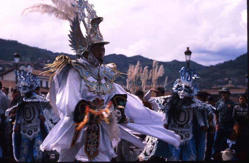 Festival de Peru Cuzco photographie stock libre de droits