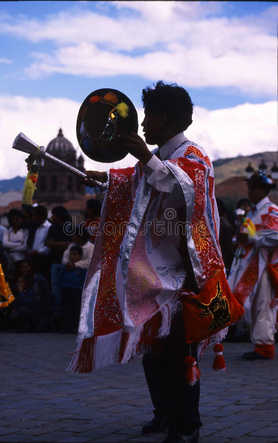 Festival de Peru Cuzco photo libre de droits