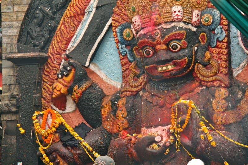 Festival de place de Durbar en avril image stock