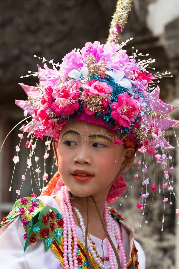 Festival de Poy Sang Long. foto de archivo