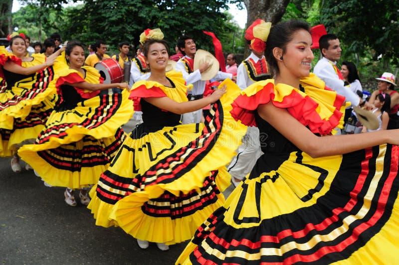 Festival de Sanjuanero - Rivera-Colombie photographie stock