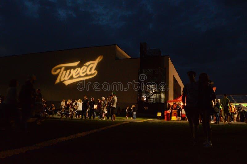 Festival de Shinidg del tweed fotografía de archivo