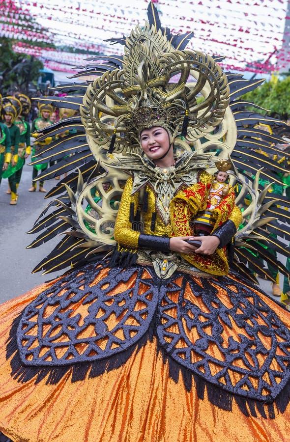 Festival 2018 de Sinulog fotos de stock royalty free