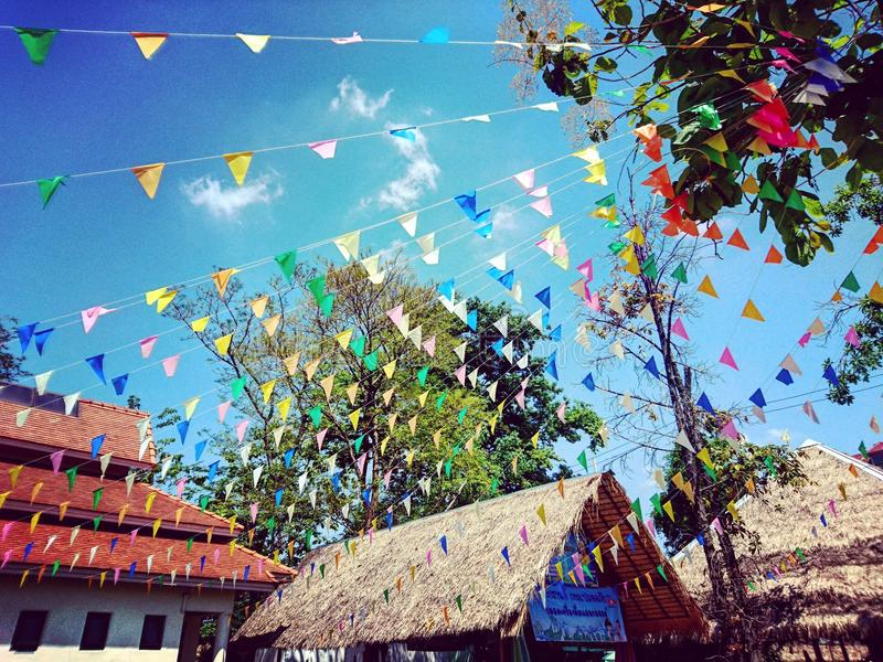 Festival de Songkran imagen de archivo