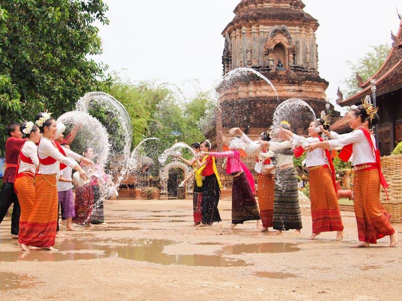 Festival de Songkran fotografia de stock