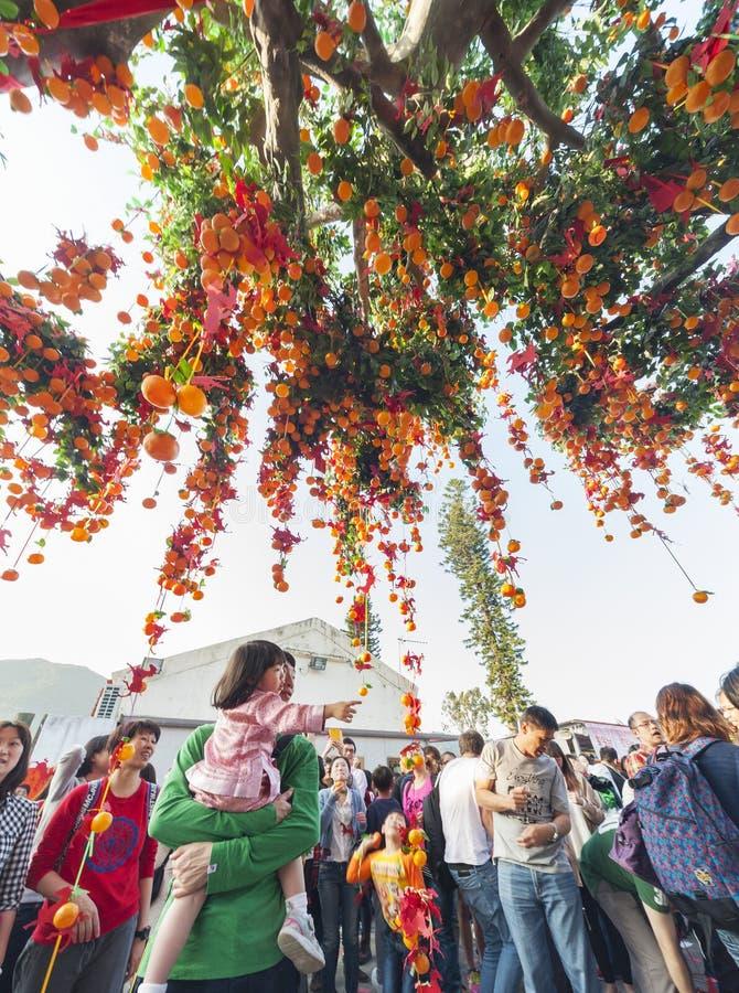 Festival de souhait bon en Hong Kong photographie stock libre de droits