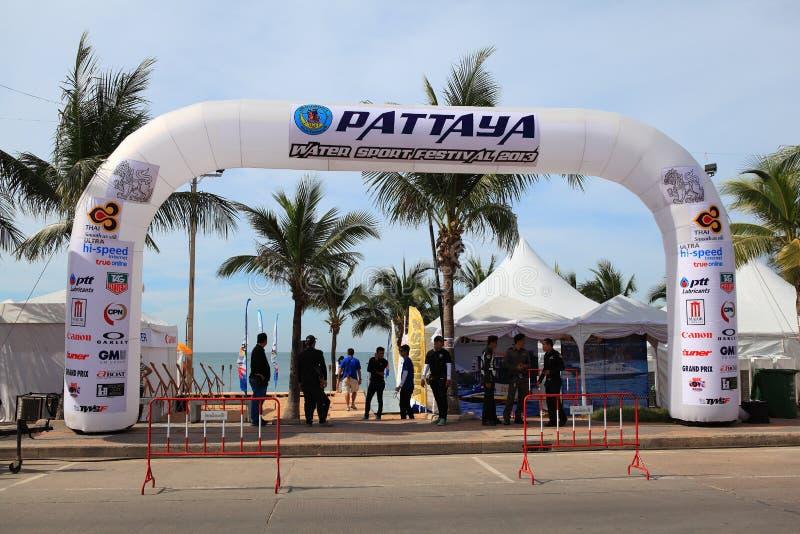 Festival 2013 de sport aquatique de Pattaya image stock
