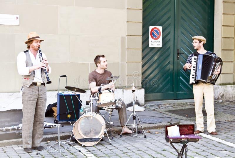 Festival de Streetmusic de Buskers ; Berne photos stock