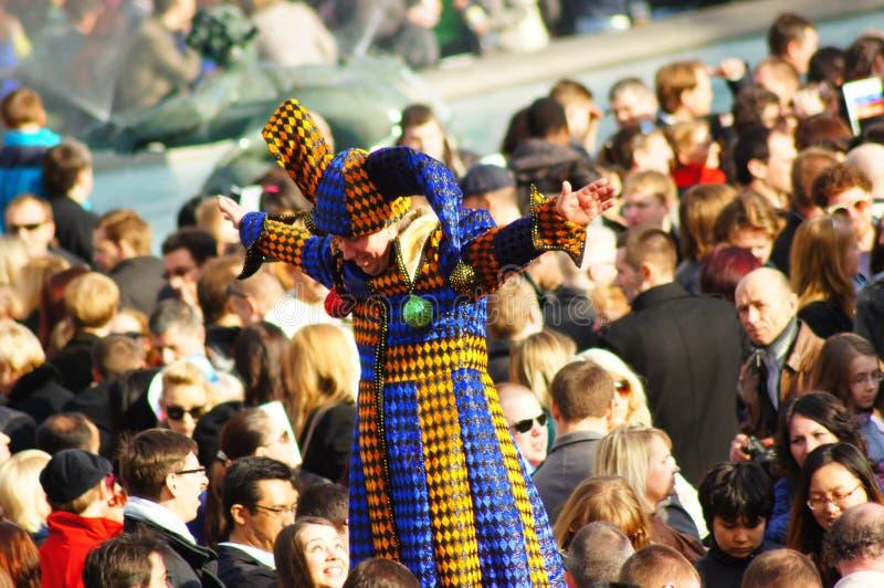 Festival de Sun de Russe de Maslenitsa à Londres images libres de droits