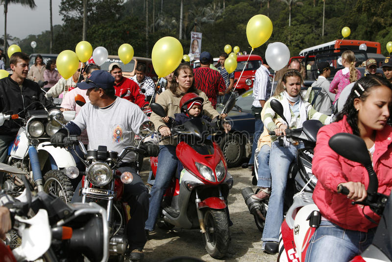 FESTIVAL DE SURAMÉRICA VENEZUELA COLONAI TOVAR foto de archivo libre de regalías