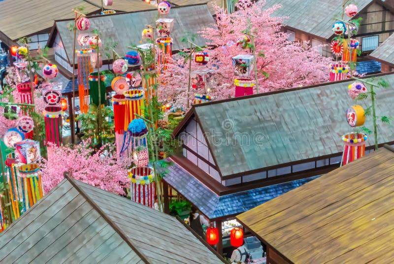 Festival de Tanabata fotos de stock royalty free