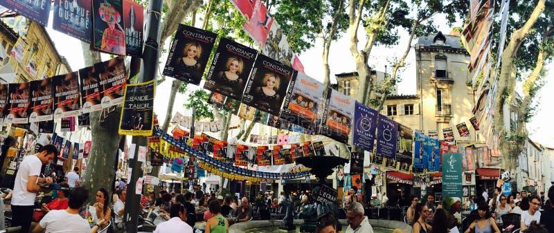 Festival de théâtre d'Avignon images libres de droits