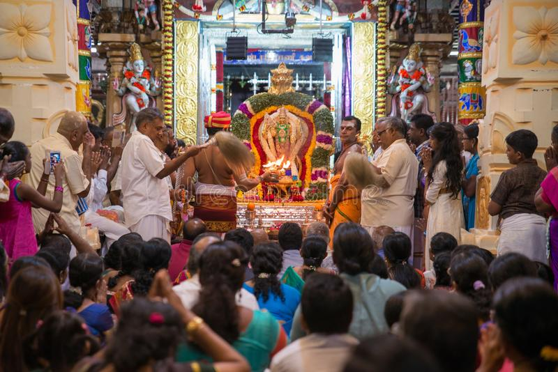 Festival de Thaipusam em Georgetown, Penang, Malásia imagens de stock royalty free