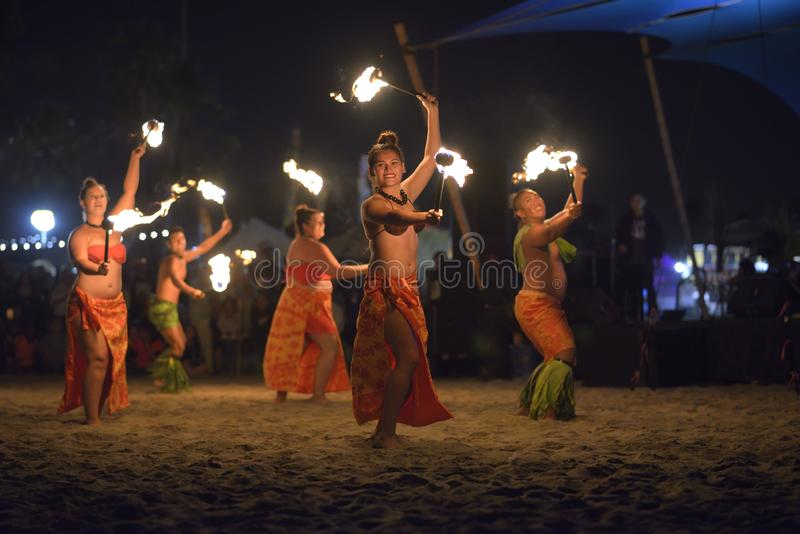 Festival de Tiki Polynesian imagen de archivo libre de regalías