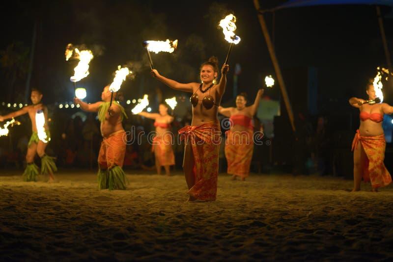 Festival de Tiki Polynesian fotos de archivo